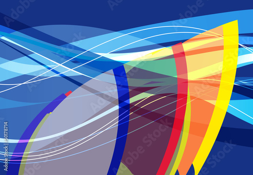 abstract surf graphic