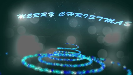 Families at christmas montage with text