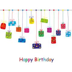 Birthday Card, vector