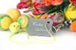 Frohe Ostern Schildchen