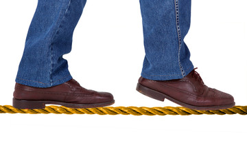 Balance on the tightrope