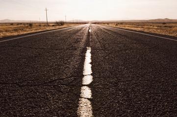 Road in remote area