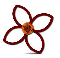 fiore stilizzato