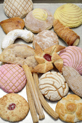 Variety of Hispanic pastries