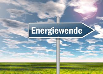 """Wegweiser """"Energiewende"""""""