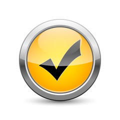 validation icon internet button