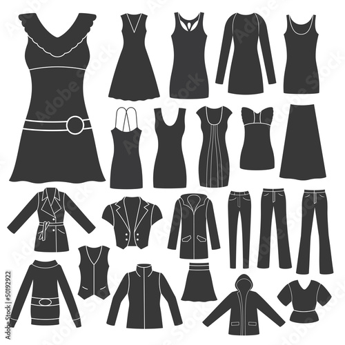 Set of Women's Clothing.