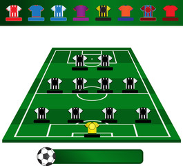 Football - Soccer Tactic Board