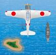 Постер, плакат: Mitsubishi A6M Zero