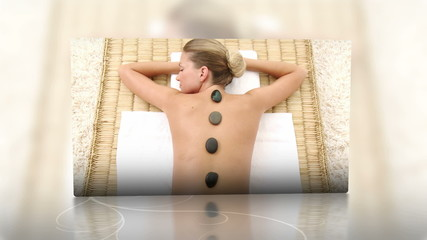 Relaxation and massage montage
