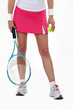Woman ready for tennis