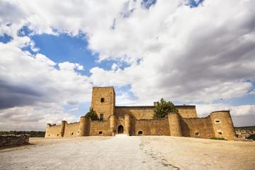 Pedraza Castle in Segovia, Castilla y Leon, Spain.