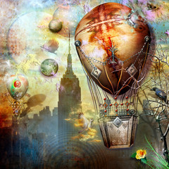 Anywhere out of the world - series