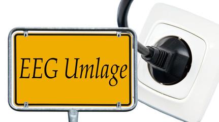 Schild - EEG Umlage