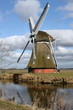 Windmill from 1817 in Zuidwolde.The Netherlands