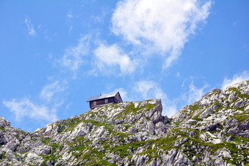 Kanin, Berg in den Julischen Alpen, Slowenien