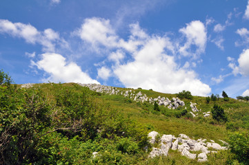 Monte Matajur, Berg in den julischen Alpen, Slowenien