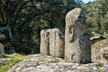 Ancient archeological site of Filitosa, Corsica (France)