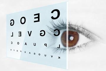 Sehtest beim Augenarzt