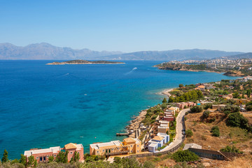 Mirabello bay. Crete, Greece