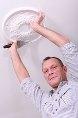 painter with molding