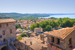 Panoramic view of Bolsena. Lazio. Italy.