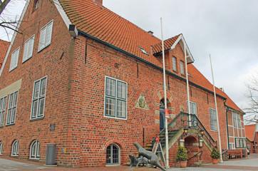 Otterndorf: Rathaus von 1583 (Niedersachsen)