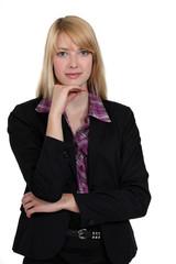 Portrait of a business professional