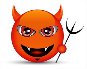 Smiley Red devil