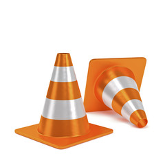 traffic cones catarifrangente