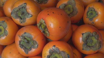 Verifying Orange Persimmons (Kaki)