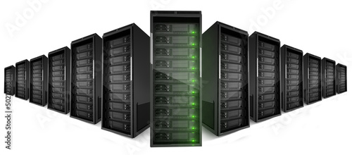 Cloud network servers