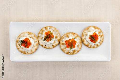 Caviar appetizers - 50212357