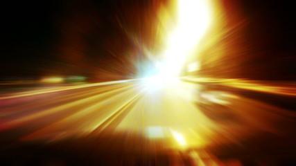 Night road timelapse, HD.