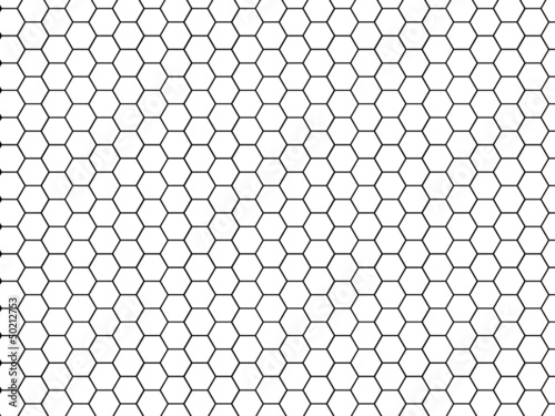 texture hexagone