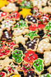 Homemade Christmas cookies