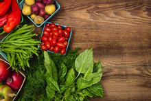 Fruits et légumes frais du marché