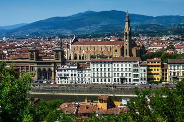 Florence, Santa Croce franciscan church