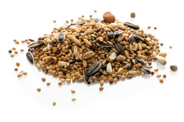 Mélange de graines pour perruches.