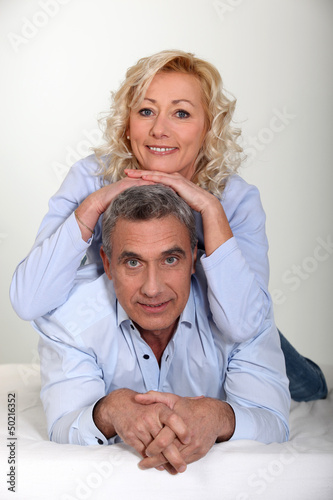 Portrait of a mature couple
