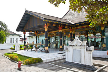 Kraton Sultan Palace a living Museum of Javanese culture. Indone