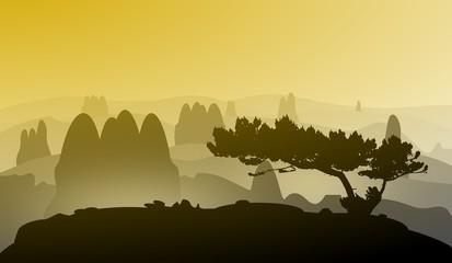 Landschaft - Gebirge - Wandern