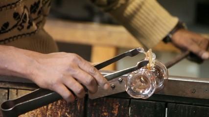 Lavorando Il Vetro, Murano/ Working Glass In Murano