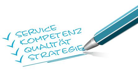 Stift Service und Kompetenz