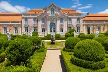 L'aile de salle de bal du Palais national de Queluz, Portugal