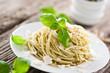 spaghetti mit pesto verde