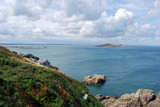 Howth, Ireland, panorama from the cliff