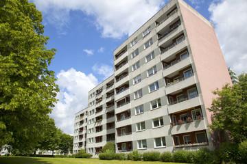 Wohngebäude in Kronshagen bei Kiel, Deutschland