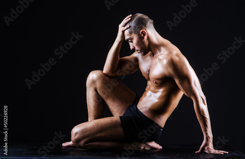 Fototapeten,aktiv,erwachsen,arm,athlet