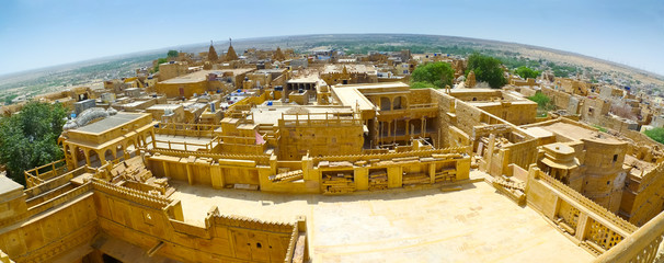 Jaisalmer Fish-eye Panorama